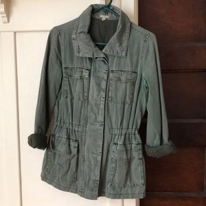 Ecote (urban outfitters) army green surplus jacket